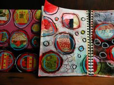 elizabeth bunsen journal pages #circles #patterns