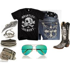 """""""Brantley Gilbert Baby!"""" by camera-lover on Polyvore"""