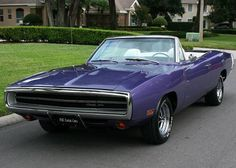 "1970 Dodge Charger CONVERTIBLE 440 . ""I'm unsure if I like this or if I hate the bastard for cutting up a charger."""