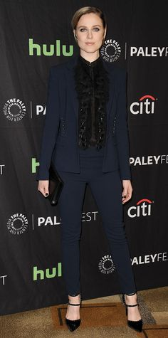 Look of the Day - Evan Rachel Wood from InStyle.com