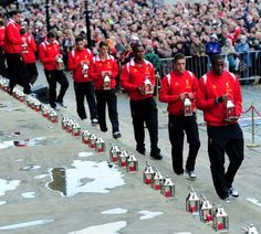 The vigil in photos - part one - Liverpool FC