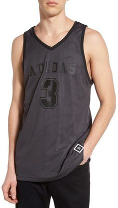 adidas Men/'s E Kit Sleeveless Basketball Jersey Climacool Sport Gym Tank Vest XS
