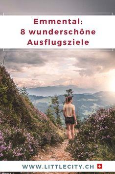8 wunderschöne Ausflugsziele im Emmental für einen tollen Tagesausflug. Mit vielen Reisetipps für die Region Emmental.  #emmental #schweiz #ausflugsziel #ausflugstipp Reisen In Europa, Europe Travel Guide, Switzerland, Travel Inspiration, Nature, Movie Posters, Outdoor, Day Trips, Tourism