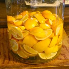 Homemade #Limoncello #liqueur. Use Meyer lemons.
