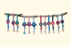 Baby Schnullerbänder in vielen Farben und mit unterschiedlichsten Motiven. Ein absolutes muss für jedes Baby!
