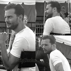"444 Likes, 11 Comments - Jamie and Dakota (@jamie_and_dakotafansworld) on Instagram: ""New pics of Jamie Dornan last year {August 2016} in NY for Good Morning America Show ------ Our…"""