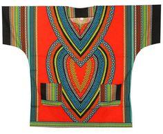 89098996a43 African Shirts Mens Dashiki Hippie Boho Blouse Women Caftan Top Plus Size  Poncho