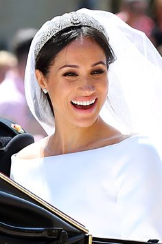 Meghan Markle Embraced Her Favorite Feature on Her Royal Wedding Day: Her Freckles!