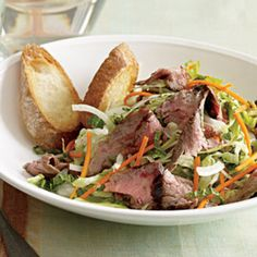 Grilled Steak-and-Sweet Lime Salad - Rachael Ray Every Day
