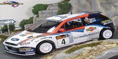 Rally Argentina 2002 Ford Focus RS WRC Sainz/Moya 1/43