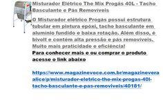 Magazine Vera Alice da Rede Magazine Você: Misturador Elétrico The Mix Progás…