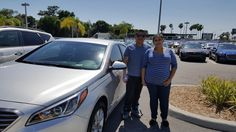 """Humberto Garcia-Salvador purchased a brand new 2016 Hyundai Sonata with the help of salesman Mo Gafur! """"I did not think we would get approved, but Mo made it happen!"""" He also left us with an """"exceptional"""" review! Thank you Mr. Salvador, it was a pleasure doing business with you! Please, if there is anything that we can do, don't hesitate to ask… We're here to help! #LakelandAutomall #LakelandHyundai #2016Sonata #HyundaiSonata #Hyundai"""