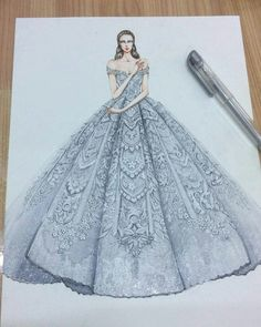 29 Ideas Fashion Sketches Dresses Couture Gowns Source by dress sketches Wedding Dress Sketches, Dress Design Sketches, Fashion Design Sketchbook, Fashion Design Drawings, Fashion Sketches, Wedding Dresses, Dress Illustration, Fashion Illustration Dresses, Fashion Illustrations