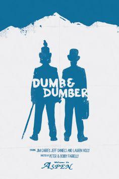 Dumb & Dumber minimal movie poster