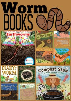 Are you looking for worm or recycling books? Check out this round-up of read-aloud favorites. Konmari Books, Science Activities, Science Fun, Science Ideas, Making A Compost Bin, Teacher Bags, Worm Composting, Primary Classroom, Read Aloud