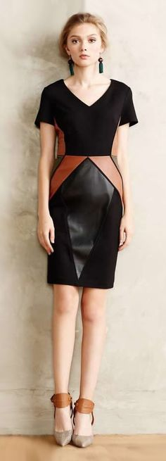 Textured Leather Outfits - DesignerzCentral