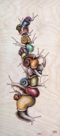 snail Pile 06 - Fay Helfer