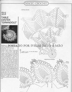 abacaxi vazado gráfico VV ivelisefeitoamao.com.br