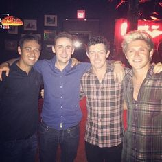Niall Rory and Willie last night