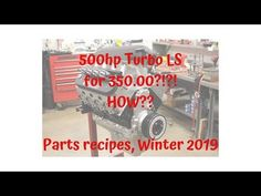 LS engine build recipes on a budget Ls Engine, Engine Swap, Truck Engine, Ls Swap, Budget Meals, Chevy Trucks, Jeeps, Truck Parts, Project Ideas