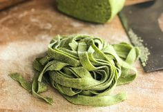 Tagliatelle verdi senza glutine