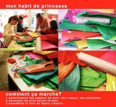 Comment créer une robe de pincesse ?  http://www.luki-atelier.fr