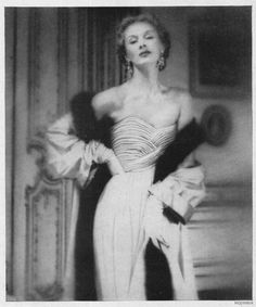 Photographer Lillian Bassman, 1948