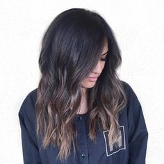 cool 45 Ways to Style Dark Ombre Hair -- The Dramatic Transition of Colors