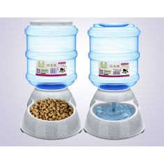 Large Automatic Pet Feeder Drinking Fountain For Cats Dogs Environmental Plastic Dog Food Bowl Pets Water Dispenser Dog Water Bowls, Dog Food Bowls, Pet Bowls, Automatic Cat Feeder, Drinking Fountain, Gifts For Dog Owners, Dog Feeder, Cat Dog, Water Dispenser