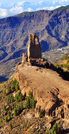 Roques de Tejeda, Gran Canaria, Canary Islands, Spain