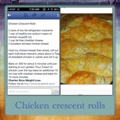 Chicken crescent rolls Meal Ideas, Dinner Ideas, Dinner Recipes, Food Dishes, Main Dishes, Chicken Crescent Rolls, Great Recipes, Favorite Recipes, Puff Pastry Recipes