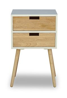 71a76754ebc2 Retamosa 2 Drawer Bedside Table