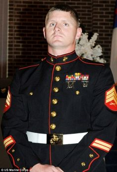 Sgt Christopher Jacobs at section 60 of Arlington National Cemetery died in a training accident in 2011