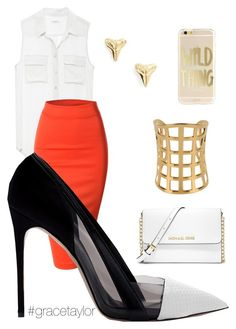 Sunday's Finest #gracetaylor by graciep0o on Polyvore featuring polyvore, fashion, style, Doublju, Prabal Gurung, MICHAEL Michael Kors, ki-ele and Tom Ford