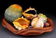 I love artist Andy Rogers! Ceramic Pots, Ceramic Pottery, Pottery Art, Organic Ceramics, Modern Ceramics, Ceramics Projects, Clay Projects, Organic Form, Organic Shapes