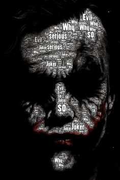 The Joker . The Dark Knight – Anime Characters Epic fails and comic Marvel Univerce Characters image ideas tips Joker Batman, Joker Heath, Joker Art, Joker And Harley Quinn, Batman Art, Superman, Joker Poster, Joker Images, Joker Pics