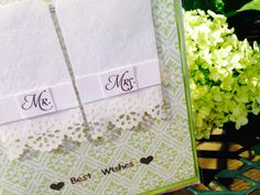 Pretty 3D hanging towels Greeting Card by Viviansgreetings on Etsy, $3.00