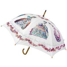 Parapluie canne - Gravures de mode au temps de Marie-Antoinette