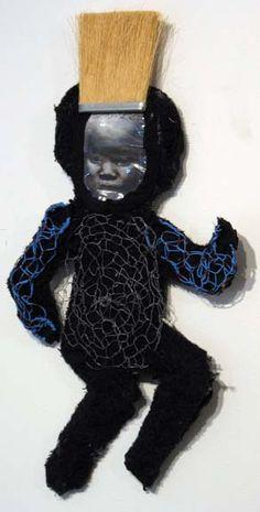 Francine Seders Gallery: Marita Dingus - Indigo Babies - 36-674