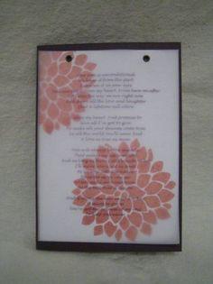 fall wedding - Homemade Cards, Rubber Stamp Art, & Paper Crafts - Splitcoaststampers.com