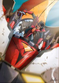 Devilman Amon, Super Robot Taisen, Japanese Superheroes, Mecha Anime, Goblin, Iron Man, Cartoon, Fictional Characters, Technology