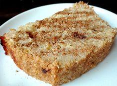 ciasto jaglano-jabłkowe Cooking Recipes, Healthy Recipes, Healthy Food, Banana Bread, Paleo, Gluten Free, Baking, Desserts, Pound Cakes