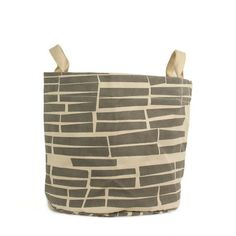 Reversible and washable this organic cotton canvas Storage Bin can roll down to the size you need. Organic Cleaning Products, Eco Products, Spring Cleaning, Organic Cotton, Storage, Grey, Subway Tiles, Kid Stuff, Cotton Canvas