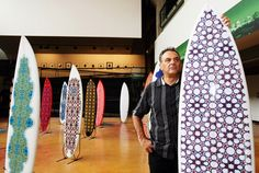 Islamic Patterned Surfboards