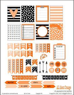 Adesivos para planner grátis para imprimir - blog Vanessa Freitas | Para Mães, Esposas e Donas de Casa
