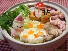 デコ鍋♡大根おろしアート♡白菜と手羽元鍋|レシピブログ
