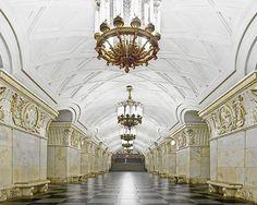 Prospekt Mira station, Moscow.