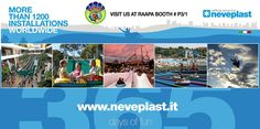 Neveplast will attend at the international trade show for Leisure Industry RAAPA that will be held from March 02nd to 05th in Moscow. Do not miss it! @ booth n° P3/1 (www.raapa.ru/en)