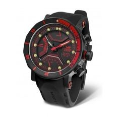 Reloj Hombre Vostok Lunokhod 2 Caucho Rojo  http://www.tutunca.es/reloj-hombre-vostok-lunokhod-2-caucho-rojo
