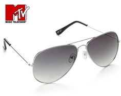 Sunglasses considered as the best protection system for your eyes against sunlight and harmful UV rays. Excessive exposure to the ultraviolet light reflected off sand, snow or pavement can burn the eye's surface. Extremely stylish unisex sunglasses from MTV will protect your eyes with a new fashion statement. Aviator is the most popular fashion trend now. Frame is made of the finest quality metal which ensures lightweight and prolonged durability